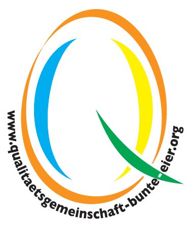 Logo: Qualitätsgemeinschaft Bunte Eier